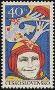 Czechoslovakia / Stamps (1977) 2278: Space Exploration - Alexey Arkhipovich Leonov (1934); Painter: Ivan Strnad - Space