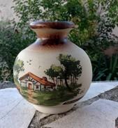 VASE - GRES BASQUE DE CAZALAS SIGNE - - Céramiques