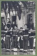(ma) CPSM Militaria - ALGERIE - 45ème De TRANSMISSION - MAISON CARREE - LE DRAPEAU DU 45ème - Animation Militaire - - Algérie