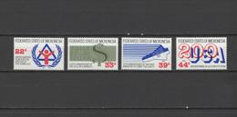 Micronesia 1987 Space US Bicentennial Etc. Set Of 4 MNH