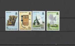 Cayman Islands 1985 Space Telecommunication Set Of 4 MNH