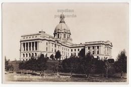 EDMONTON Alberta Canada, PARLIAMENT BUILIDNG C1920-30s Vintage Real Photo Postcard RPPC [6664] - Edmonton