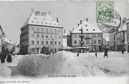 LA CHAUX-DE-FONDS → Jacques Meyer Cigares, Viel Schnee Im Winter 1906 - NE Neuenburg