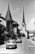 CORTAILLOD → Dorfstrasse Mit Oldtimer Ca.1960  ►NE-15184 & NE-5432◄ - NE Neuenburg