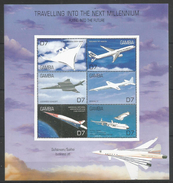 GAMBIA - MNH - Transport - Airplanes - Millenium - Airplanes
