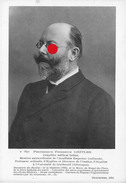 Docteur Friedrich Löffler Loeffler Frankfurt 1852 - Berlin 1915 Université De Greifswald. - Old Paper