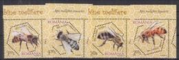 Romania 2010 Bees MNH