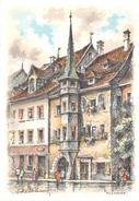 Illustrateur - MULHOUSE - Maison Mieg - Place De La Réunion - N° 2301 B - M. Barré & J. Dayez - Autres Illustrateurs