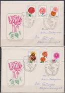 DDR FDC1975 Nr.2070 - 2075  Blumenzüchtungen  (d 4044 ) - FDC: Enveloppes