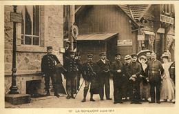CPA - COL DE LA SCHLUCHT - (ALSACE - ELSASS - VOSGES - VOGESEN) - DOUANE - FRONTIÈRE FRANCO-ALLEMANDE - France