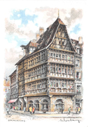 Illustrateur - STRASBOURG  - La Maison Kammerzell - N° 2107 A - M. Barré & J. Dayez - Autres Illustrateurs