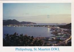Saint Martin Philipsburg & Great Bay Harbour At Dusk - Saint-Martin
