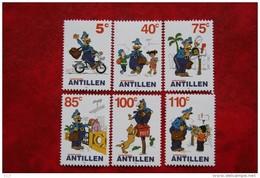 Strippostzegels Cartoons  NVPH 1354-1359 2001 MNH POSTFRIS NEDERLANDSE ANTILLEN  NETHERLANDS ANTILLES - Niederländische Antillen, Curaçao, Aruba