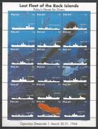 PALAU - MNH - Transport - Ships - Marine Life - Fish - Ships