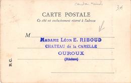 Ouroux Château De La Carelle Poligny Saint Benoit BF 264 - Other Municipalities