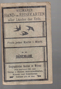 Carte Dépliante DANEMARK (PPP4071) - Cartes Routières