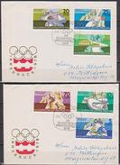 DDR FDC1975 Nr.2099 - 2104  Olympische Winterspiele 1976 Innsbruck (d 4055 ) - FDC: Enveloppes