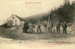 CPA - COL DU BONHOMME - (ALSACE - ELSASS - VOSGES - VOGESEN) - DOUANE - ANCIENNE FRONTIÈRE FRANCO-ALLEMANDE - France