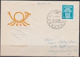 DDR FDC1976 Nr.2118  100 Jahre Telefon (d 4061 ) - FDC: Enveloppes