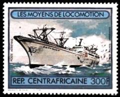 CENTRAFRIQUE Bateaux, Ship, Paquebot, Navigation Yvert N° PA 257** MNH - Schiffe