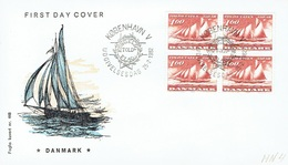 DENMARK  FDC FROM 1982  STAMPWORLD 750 - FDC