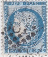 N° 60 C    GC     987     CHAUVIGNY    /  VIENNE   -   LOT  LIG37 - 1871-1875 Ceres