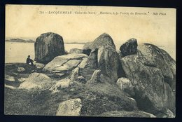 Cpa  Du  22  Locquemeau  Rochers à La Pointe Du Dourvin     JIP83 - Lannion