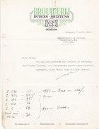 Brasserie Brouwerij Dubois-Mertens Oudegem 1950 - Belgium