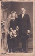 AK Foto Brautpaar - Atelier Saarland, Völklingen - Ca. 1910  (26269) - Noces