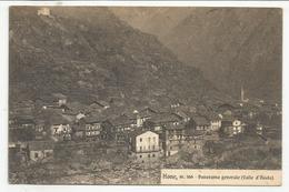 AOSTA (0071) - HONE Panorama Generale - Fp/Vg 1930 - Aosta