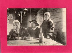BRETAGNE, Vieux Galantin, Animée, Unvaniez Post Ar Bel, (E. Hamonic) - Bretagne