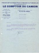 Schaerbeek - Le Comptoir Du Camion (pièces Détachées Pour Camions Anglais, Allemands, Américains) 1926 - Belgium