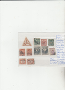 TIMBRES DES COLONIES D ITALIE (FIUME-LIPSO-ERYTHREE-LIBYE NEUF*/OBLITEREES COTE 133.50  € - Erythrée