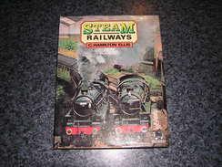 STEAM RAILWAYS C Hamilton Ellis Chemin De Fer Train Royaume Uni England Locomotive - Culture
