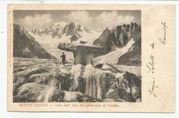 AOSTA (0081) - MONTE BIANCO Visto Dall'alto Del Ghiacciaio Di Talefre - Fp/Vg 1901 - Aosta