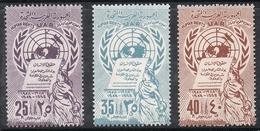 SYRIE AERIEN N°147 A 149 N** - Syrie