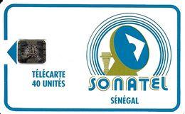 TELECARTE PHONECARD SENEGAL SONATEL 40 UNITES