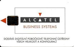 TELECARTE PHONECARD SLOVAQUIE  ALCATEL BUSINESS SYSTEMS  100 UNITES TELECOM PRAHA - Slovaquie