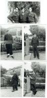 Foto/Photo. Militaria. Soldats. Essai  Photo France; Vincennes 1948 (voir Dos). Lot De 5 Photos - Krieg, Militär