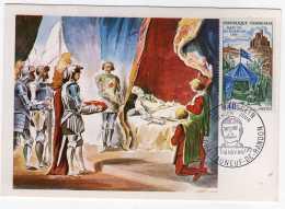 1014 - FRANCE N°1578  Mort De Bertrand DUGUESCLIN   TB - 1960-69