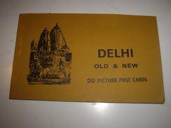 C P  INDE  DELHI   CARNET - Postcards