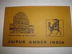 C P  INDE JAIPOUR AMBER  CARNET De 20 - Cartes Postales