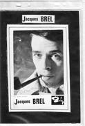 Jacques Brel - Autographes