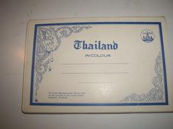 C P ASIE  THAILAND  CARNET De 12  Vues - Cartes Postales