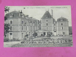 MARNAY   1910  ARDT  POITIERS  / CANTON  VIVONNE   /  CHATEAU DE MAUGUE   EDIT  CIRC  OUI - Autres Communes