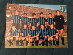 Cartolina In Bianco Dell'Internazionale 1968-69 - Fútbol