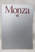 Orig. Prospekt OPEL MONZA Im Format DIN A4 - Catalogues