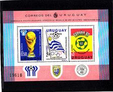 Soccer World Cup 1982 - URUGUAY - S/S MNH** - Coupe Du Monde