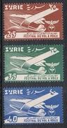 SYRIE AERIEN N°127 A 129 N** - Syrie