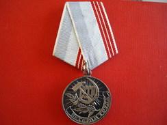 URSS Médaille Des Vétérans Du Travail - Russie